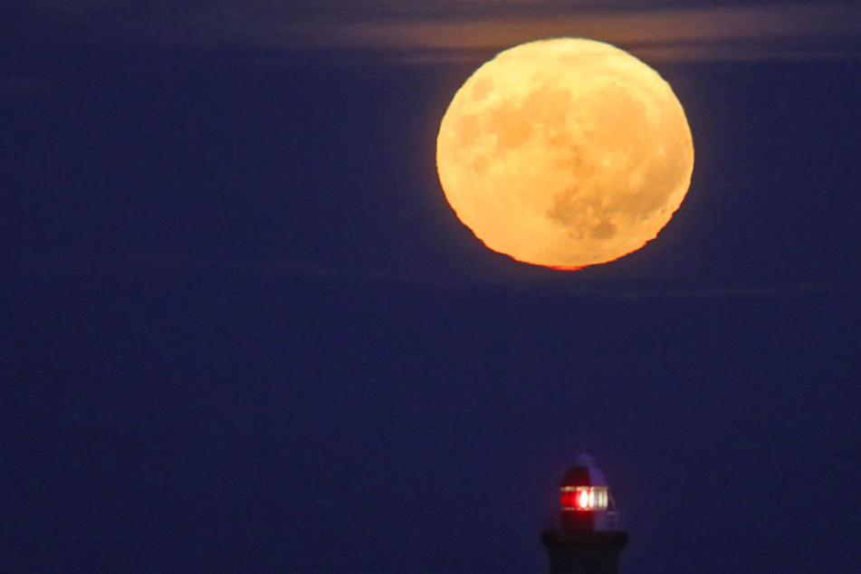 Super! Der hellste Mond des Jahres steht an