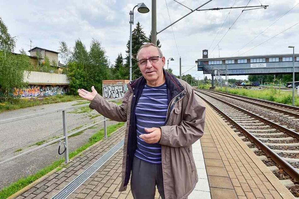"""Ex-Eisenbahner Wolfgang Lesch (63): """"Ein Halt würde nur 90 Sekunden mehr Zeit kosten."""""""