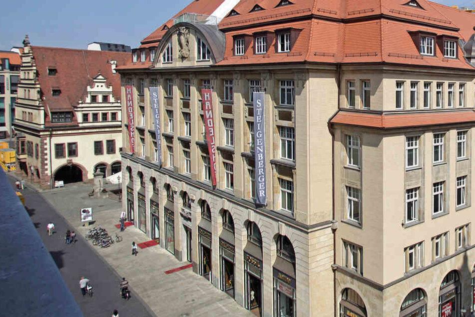 Das Steigenberger Grandhotel im Leipziger Salzgäßchen - eines der renommiertesten Unterkünfte in der Messestadt.