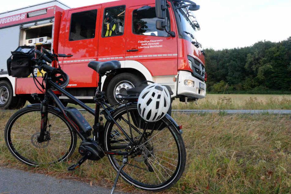 Eine Radfahrerin wurde schwer verletzt.