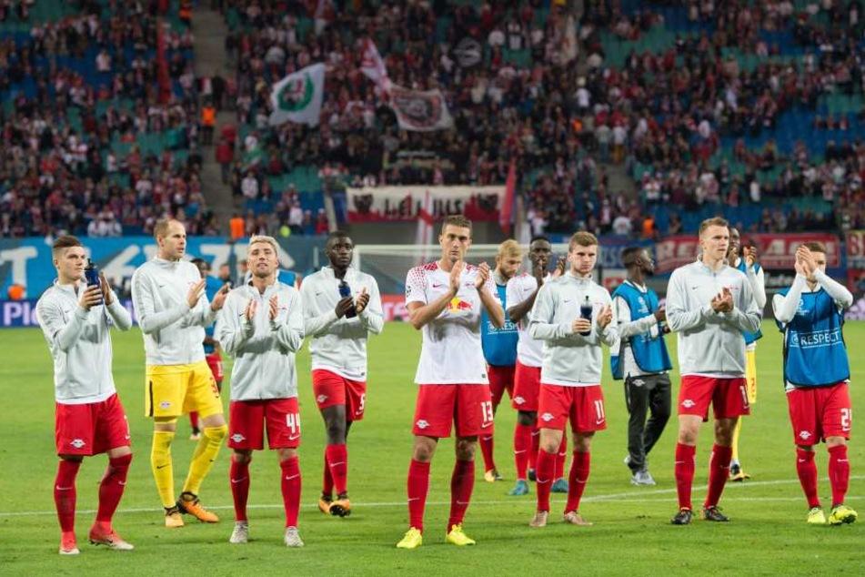 Punkt mitgenommen und dennoch hängen die Köpfe bei RB Leipzig ein wenig.