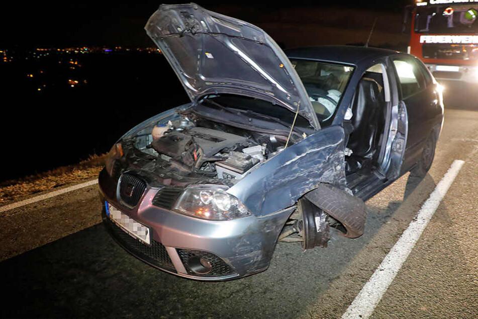 Vollsperrung! Mehrere Unfälle mit Verletzten auf B95