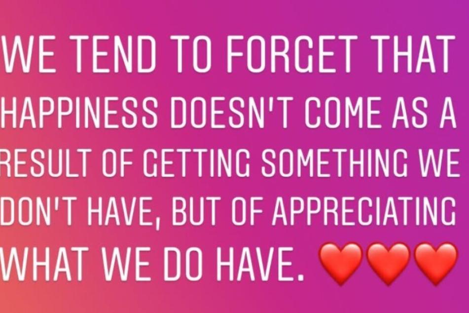 Motsi Mabuse schreibt auf Instagram vorzugsweise auf Englisch.