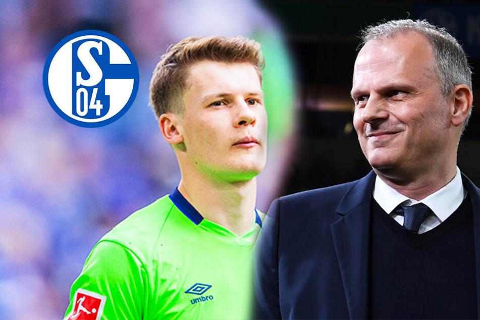 """Schalke-Sportvorstand über Nübel-Gerüchte: """"Einen Wechsel schließe ich aus""""!"""