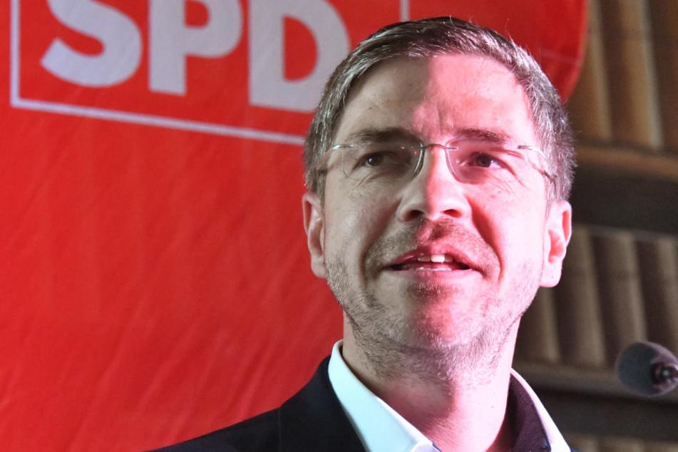 Mike Schubert (SPD) wird neuer Oberbürgermeister von Potsdam.
