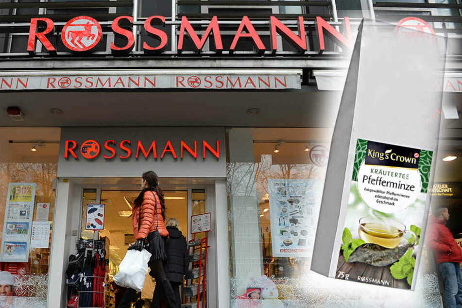 Rossmann ruft diesen Pfefferminz-Tee zurück