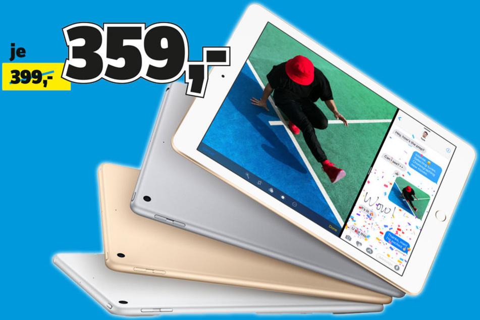 Conrad Electronic Dresden: Bis 10.2. gibt\'s iPads günstiger