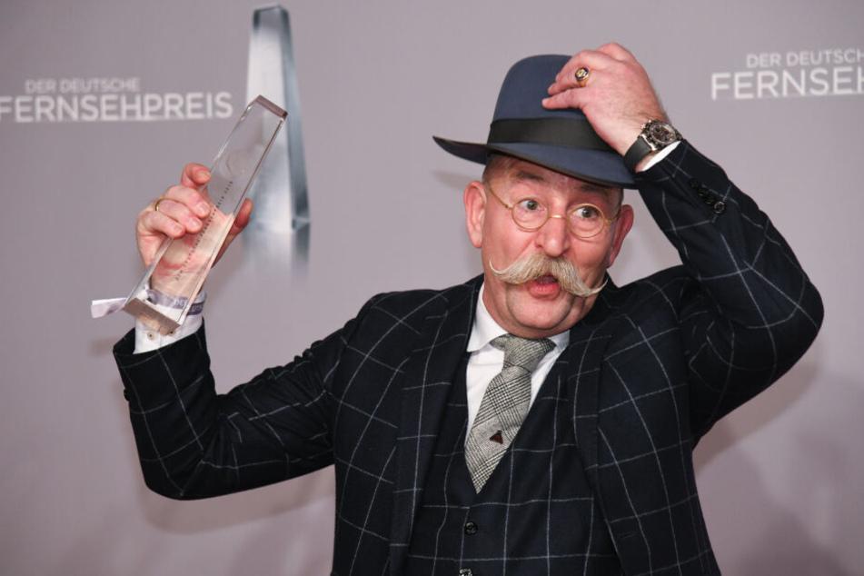 Horst Lichter räumte beim Deutschen Fernsehpreis ab.