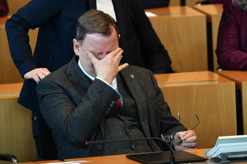 Bodo Ramelow musste sich einem dritten Wahldurchgang stellen.