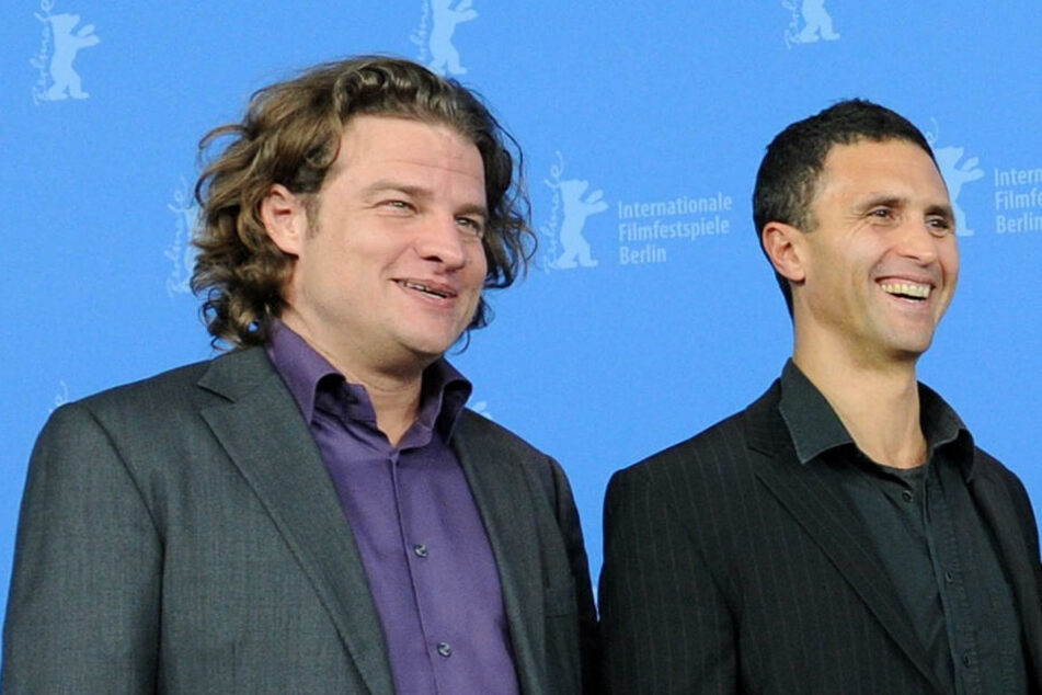 Felix Vossen (42, links) bei der Berlinale 2012.