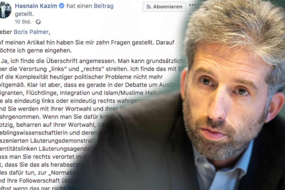 """""""Normalisierung rechtsextremer Ansichten"""": Darum diskutiert Kazim nicht mehr öffentlich mit Palmer"""