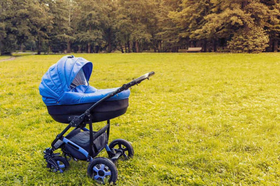 Snezhana (22) hatte ihr Baby im Kinderwagen im Garten abgestellt. (Symbolbild)