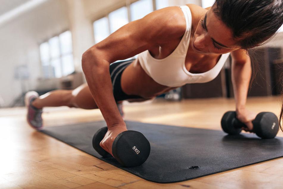 Sport hält den Körper gesund - aber nicht alle überwinden den inneren Schweinehund.