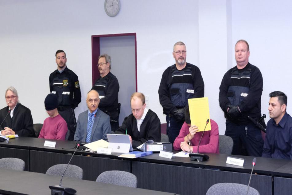 Seit Februar wird am Landgericht Dessau verhandelt.