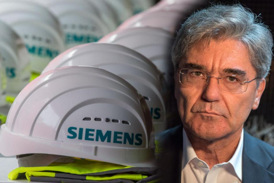 Unter Vorstandschef Joe Kaeser vielen viele Jobs bei Siemens weg.