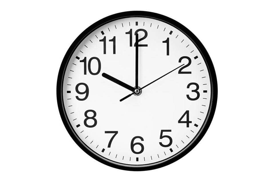 Einfach mal die Zeit vergessen?