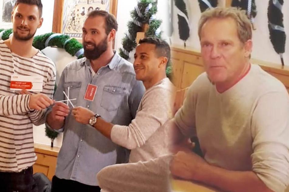 Stars des FC Bayern München und Schauspieler rufen zum Helfen auf. (Bildmontage)