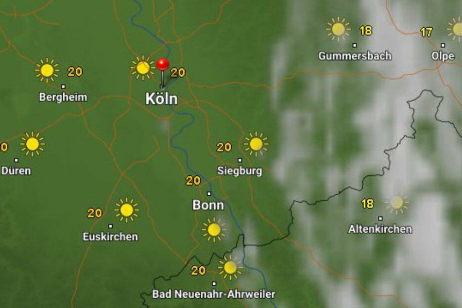Die Temperaturen werden etwas milder als in der Vorwoche. Bis zu 30 Grad werden dennoch erwartet.