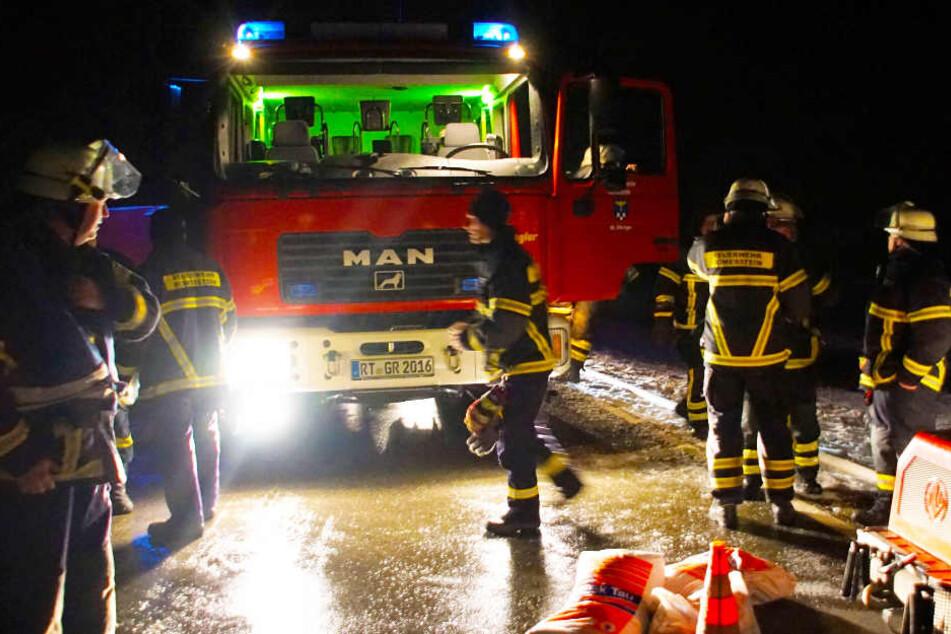 Mit kilometerlangen Wasserschlauch: Feuerwehr rettet hunderte Tiere vor dem Verdursten