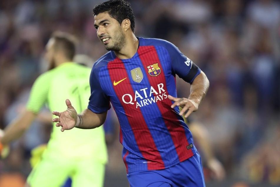 Hat sich Luis Suarez (29) mal wieder daneben benommen?