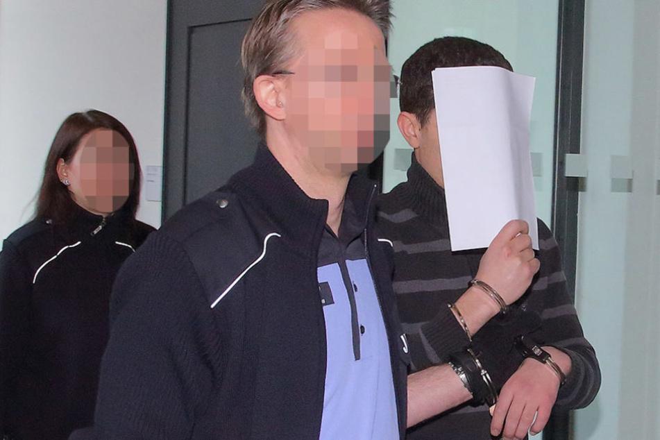 Amine J. (25) stieg bei der Ex-Grünen-Chefin ein. Jetzt sitzt er hinter Gittern.