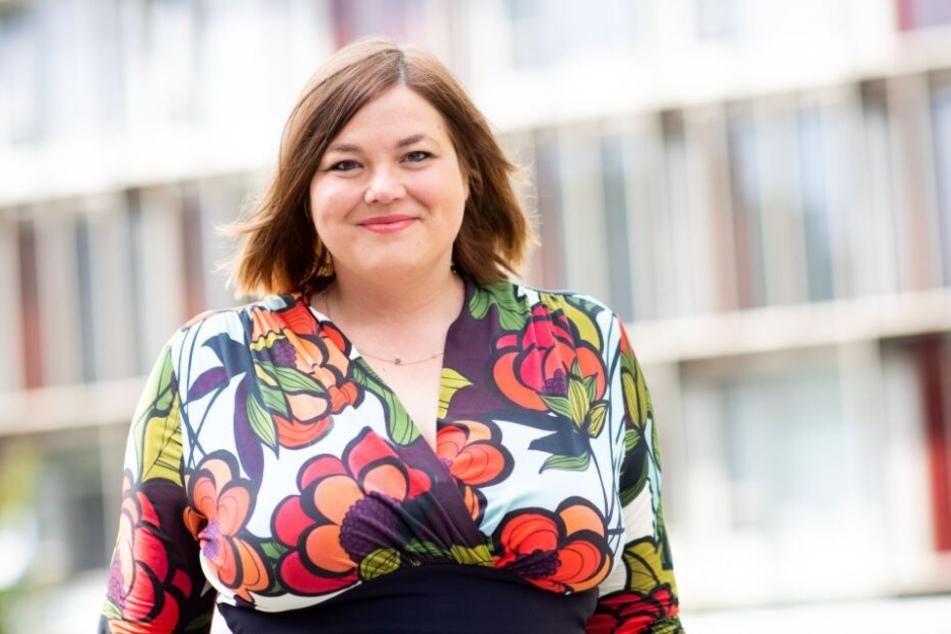 Hamburgs Zweite Bürgermeisterin und Senatorin Katharina Fegebank (Bündnis 90/Die Grünen).