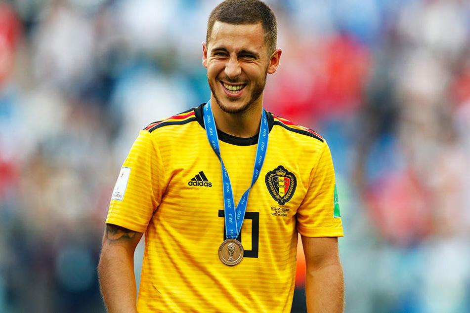 Will nach sechs Jahren beim FC Chelsea offensichtlich den Verein wechseln: Eden Hazard.