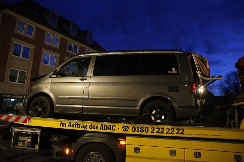 Mit diesem Auto raste Jens R. in die Menschenmenge in der Altstadt von Münster.