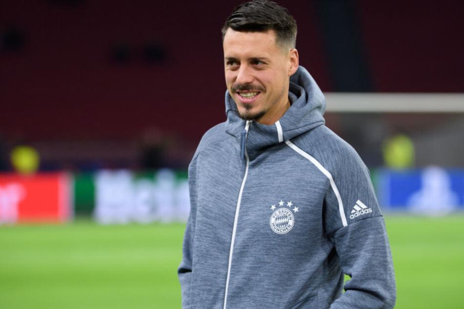 Sandro Wagner ist mit seiner Rolle beim FC Bayern wohl nicht zufrieden. (Archivbild)