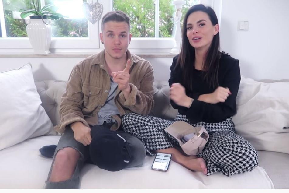 In einem YouTube-Video beantworten Denisé Kappés (29) und Henning Merten (30) die Fragen ihrer Fans.