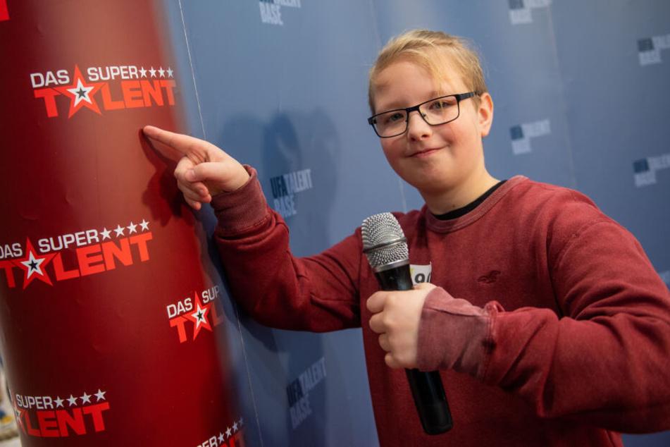 Cajus Böhner (12) überzeugte die Jury von seinem Gesangstalent.