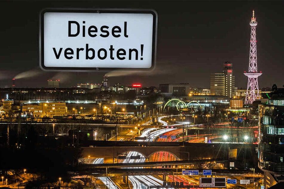 Auch Berlins viel befahrende Stadtautobahn soll vom Diesel-Verbot betroffen sein.