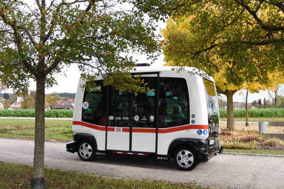 Der elektrische Bus gehört schon zum Stadtbild von Bad Birnbach dazu.
