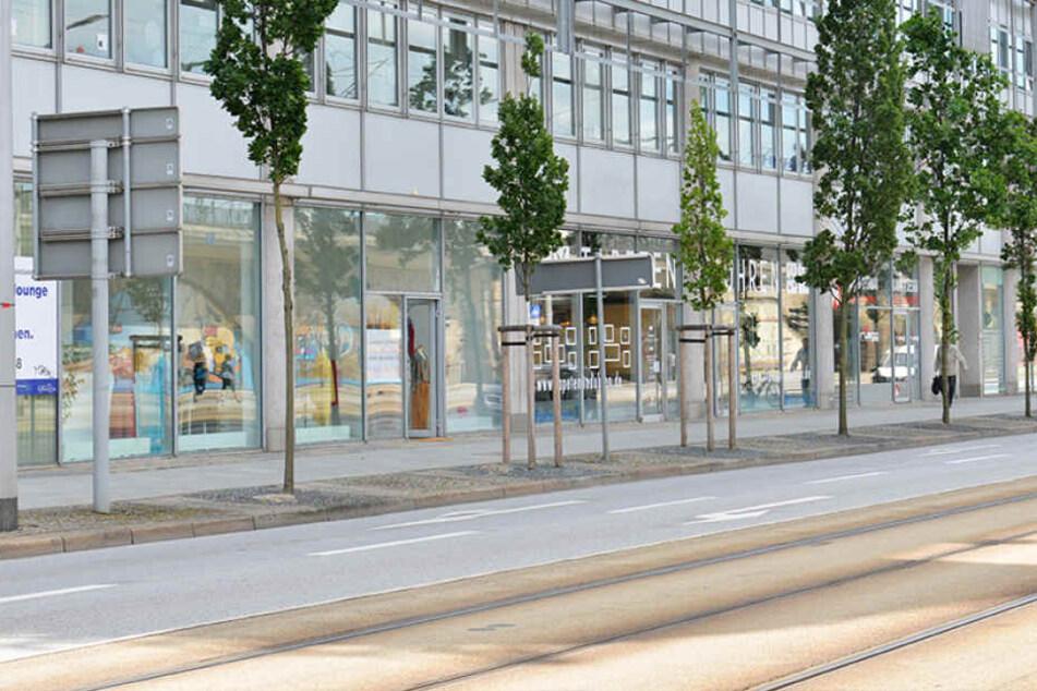 Am Montag soll das Modegeschäft von Heike Winter an der Könneritzstraße eröffnen - doch nun wurde es überfallen.