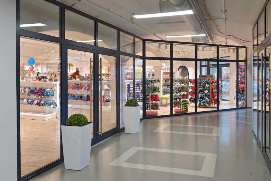 Die neue Filiale in der alten Mälzerei erstreckt sich über 550 Quadratmeter.