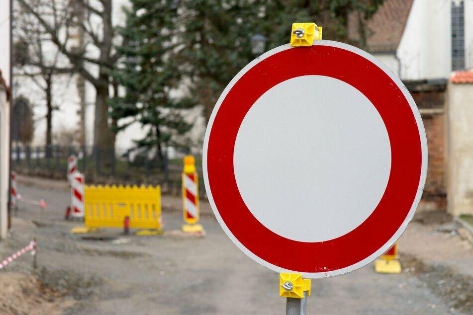 Ab Montag gibt es in Chemnitz auch wieder neue Vollsperrungen. (Symbolbild)