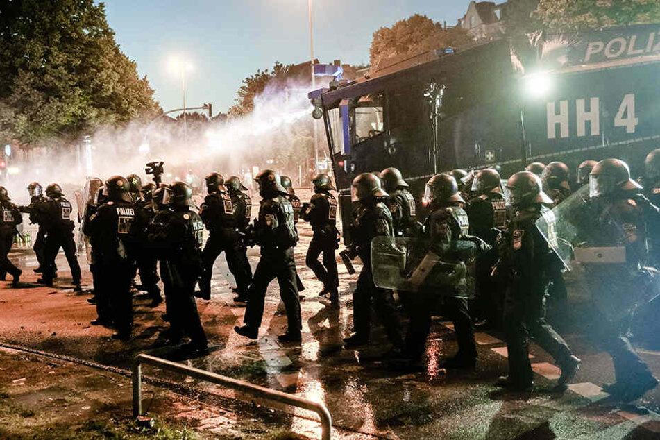 Beim G20-Gipfel musste die Polizei immer wieder massiv gegen Chaoten vorgehen.