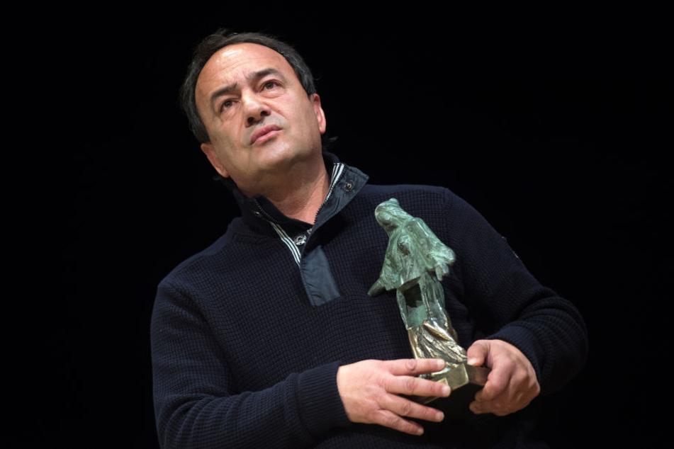 Er bekam in Dresden den Friedenspreis! Domenico Lucano festgenommen
