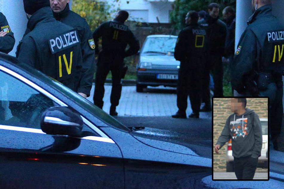 Im Fall des Chemnitzer Terrorverdächtigen Dschaber al-Bakr hat die Polizei am Mittwoch Wohnungen von vier Syrern in Nordrhein-Westfalen durchsucht.