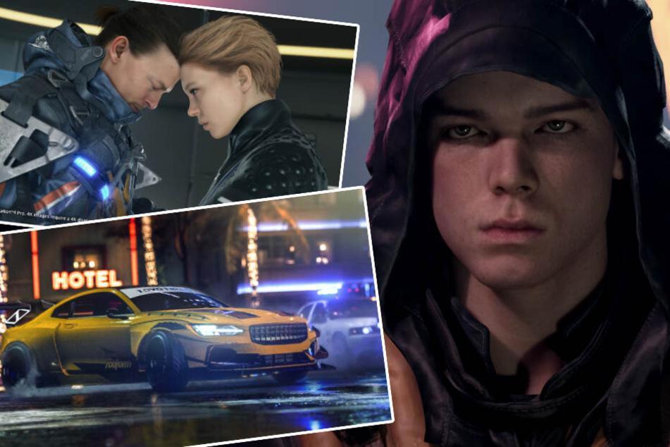 """""""Death Stranding"""", """"Star Wars"""", """"Need for Speed: Heat"""": Diese Spiele erwarten Euch im November"""