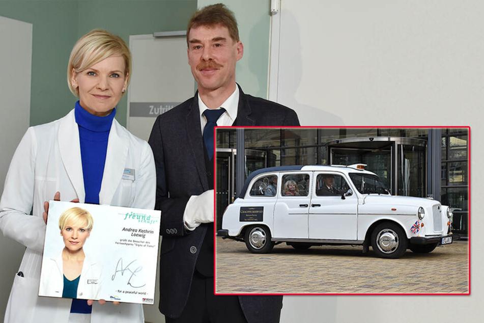 """Very british! Stollberger Chauffeur kutschiert """"IaF""""-Stars"""