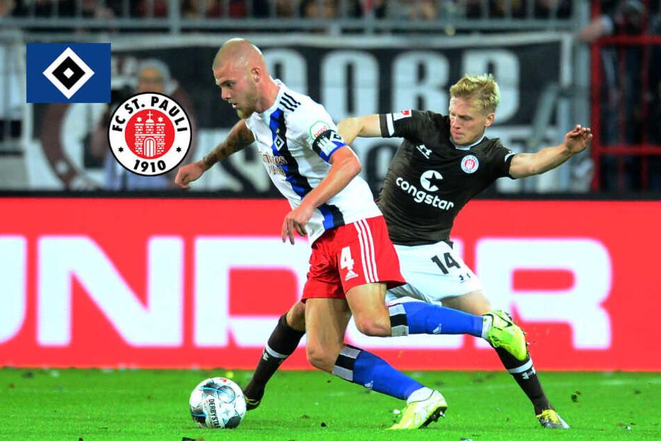 Das erwarten HSV- und St. Pauli-Trainer vom Stadt-Derby