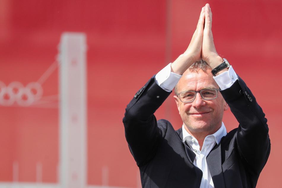 Ralf Rangnick (63) fördert nicht nur auf dem Fußballfeld den Nachwuchs.