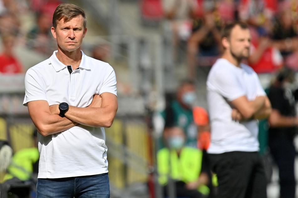 Jesse Marsch verlor seine Bundesliga-Premiere mit RB Leipzig.
