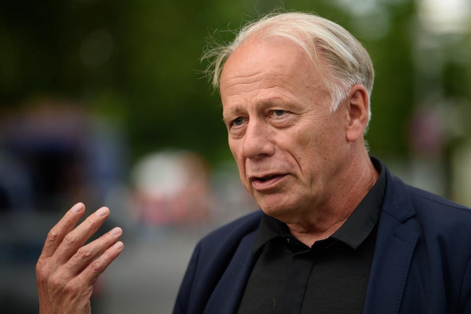 Jürgen Trittin (66, Bündnis 90/Die Grünen), Mitglied im Auswärtigen Ausschuss des Deutschen Bundestages.