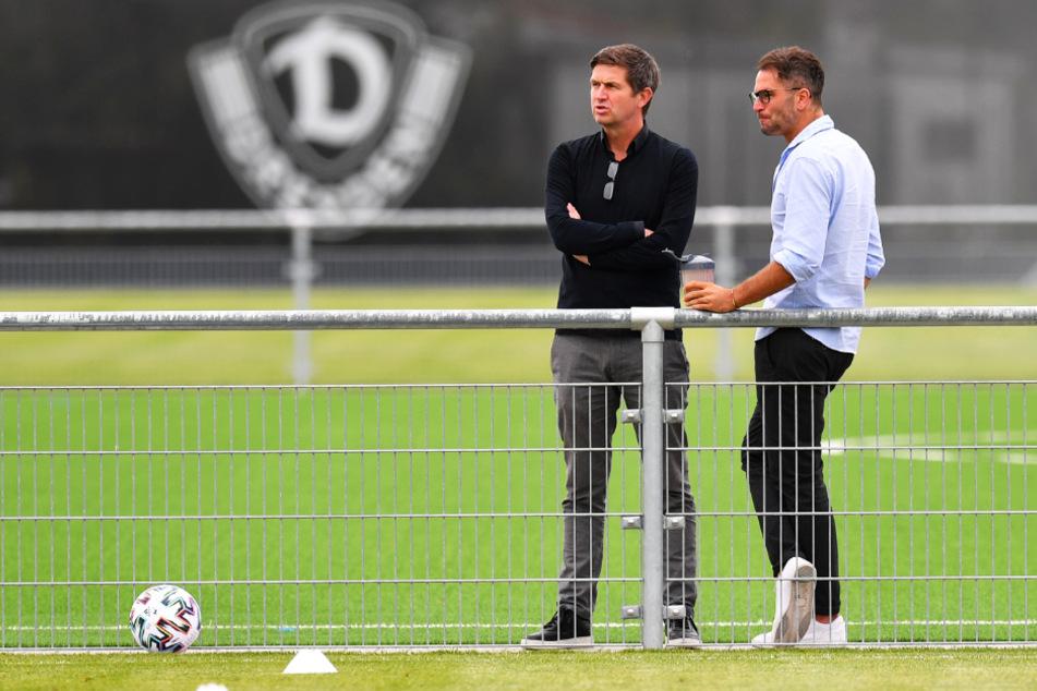 Hat Chefscout Kristian Walter (r.) bei der Auswahl der Neuzugänge zusammen mit Ralf Becker mehr Glück als in der Vorsaison?