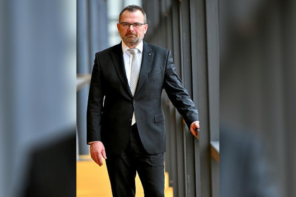 Klaus-Peter Hansen ist Chef der Landesarbeitsagentur Sachsen.