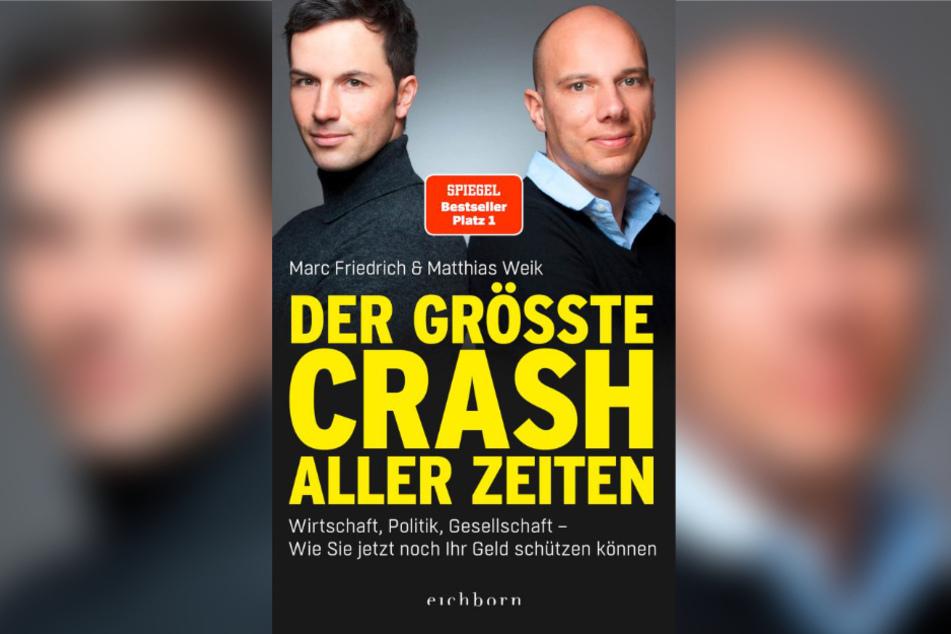 """Cover des Buchs: """"Der größte Crash aller Zeiten""""."""