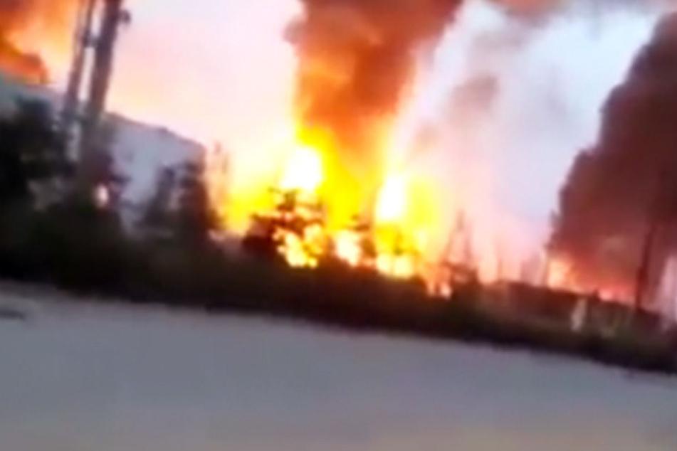 Ein Toter und sieben Vermisste nach Gasexplosion in Chemiewerk