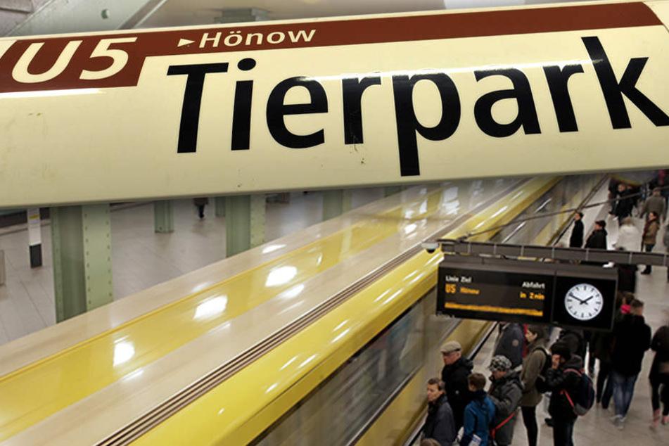 Ab 2020 sollen dann die Züge der U5 vom Alexanderplatz bis zum Hauptbahnhof rollen. (Bildmontage)